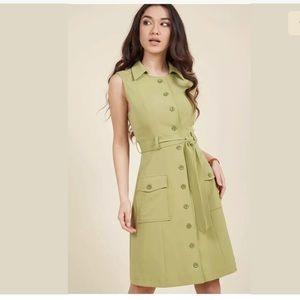 ModCloth Engaging Editorialist Shirt Dress